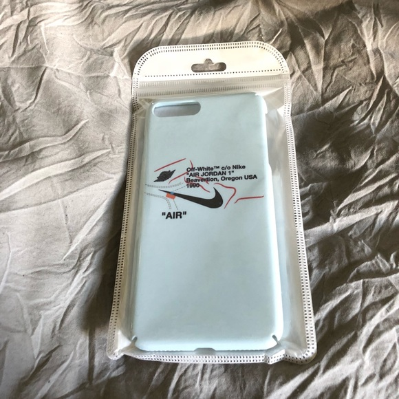 """uk availability 6ee6b 29d52 Off-White Nike """"Air"""" iPhone 7/8 Plus Case NWT"""